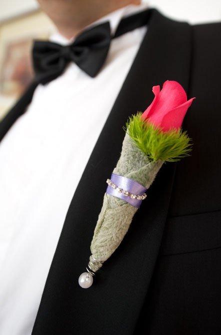 naprsni šopki za svate
