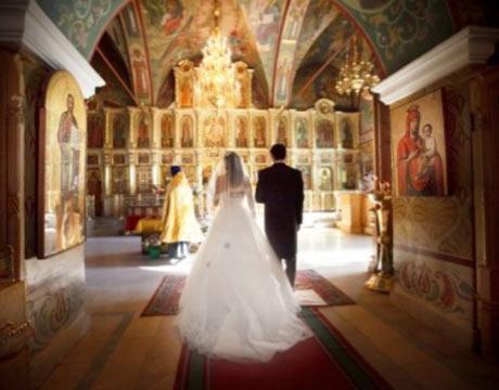 civilna in cerkvena poroka
