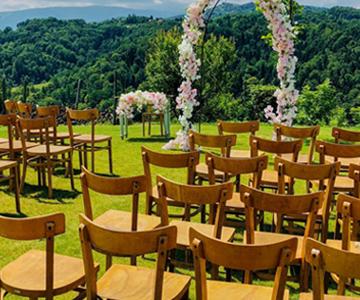 poroka na posestvu hiša vin doppler