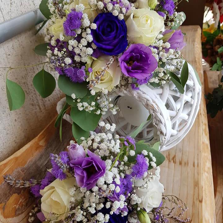 poročna dekoracija cvetličarna vrtnica zreče