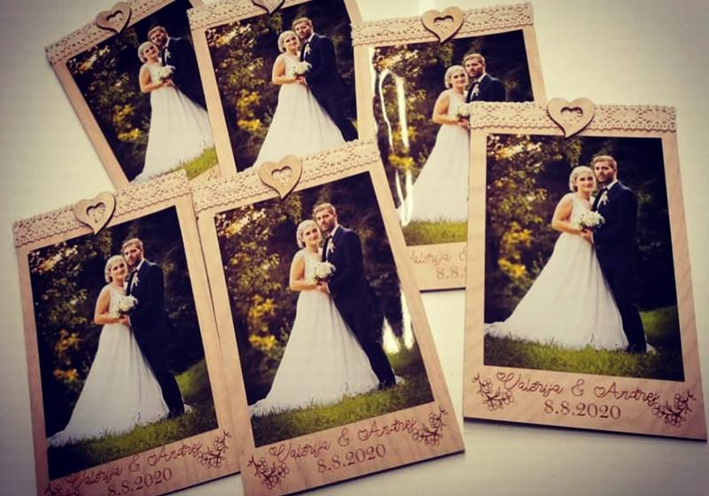 leseni izdelki za poroko