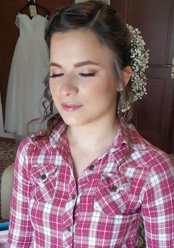 poročni make up