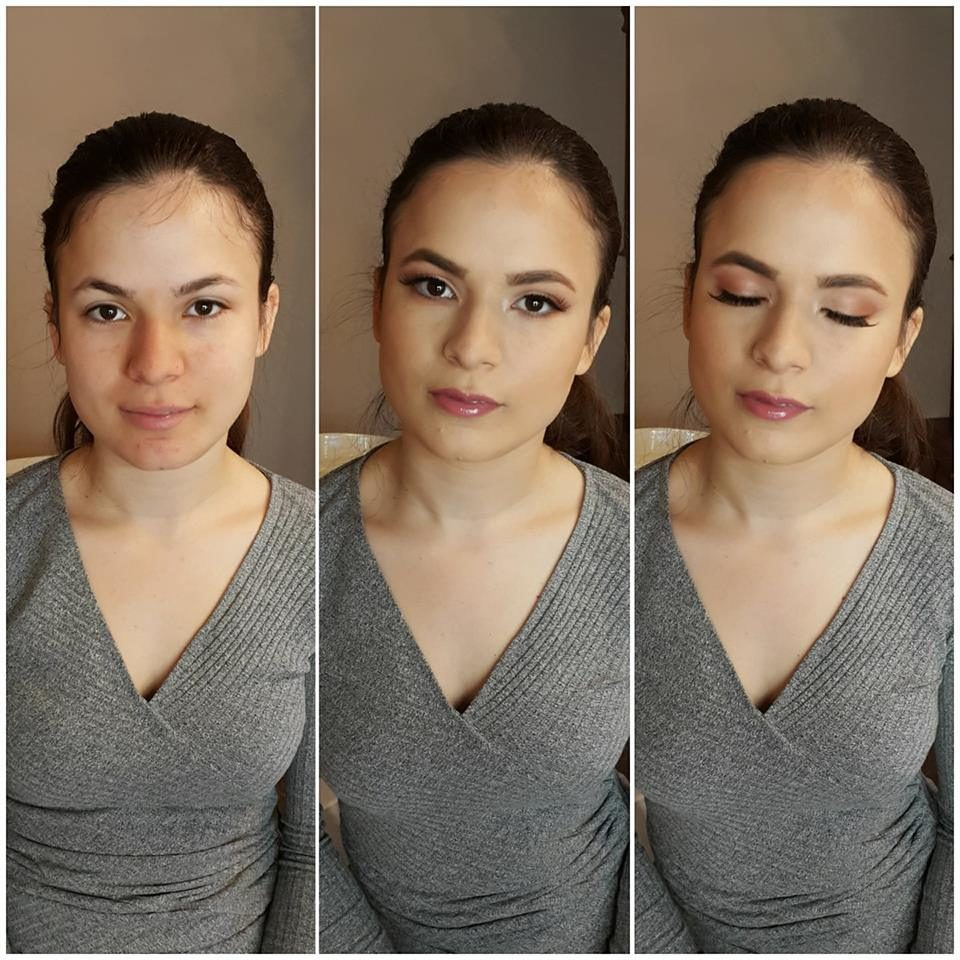 poročni make up